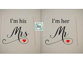 Mr & Mrs Gift/Couple Gift/Valentine's Gift for Husband/Husband and Wife Gift/Wedding Gift/Valentine's Gift/Wedding Present/Anniversary Gift