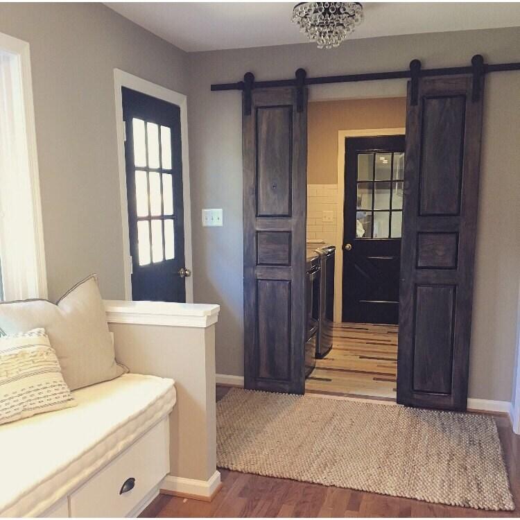 Raised Panel Interior Doors : Raised panel interior sliding hinged pantry bifold doors