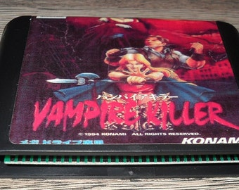 Play Megadrive Mega Drive Genesis: Vampire Killer Customized