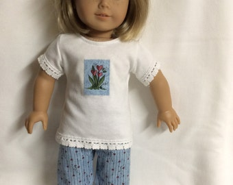 American Girl Valentine Pajamas or Lounge Outfit