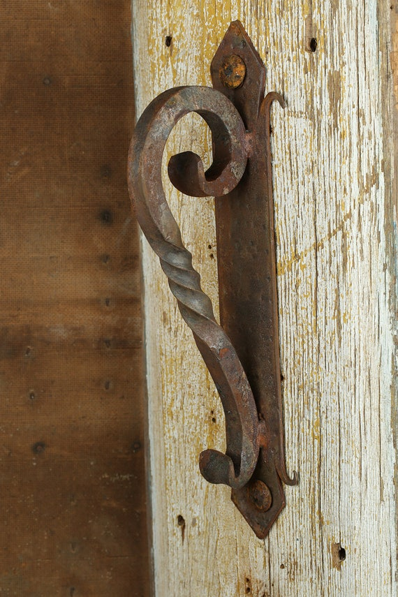 Rustic Door Hardware Iron Door Handle 4 Mexican Iron Hand