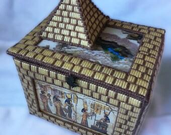 Egyptian Inspire Trinket/Jewellery Box