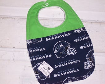 Seattle Seahawks Baby  Bib!!!   FREE SHIPPING!