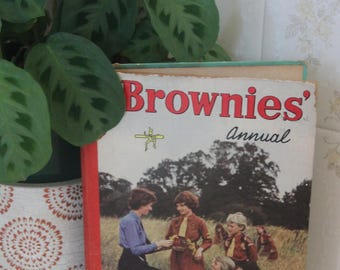 Vintage 1962 The Brownies  Annual Book. Retro 1960s Teenage Annual Book, Comics, Stories.