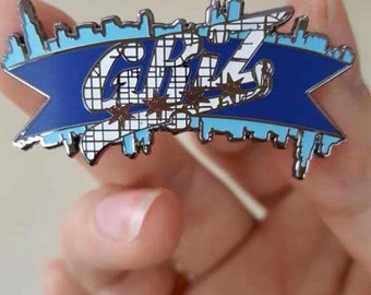 Griz Chicago navy pier hat pin - Summer camp, Electric Forest, Zeds Dead, Excision, Bassnectar, Griz, NYE, Christmas, shirt, clothing.