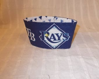 Tampa Bay Rays Coffee Cup Cozy