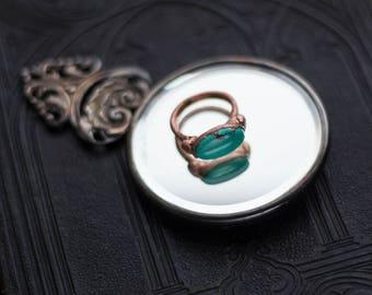 Turquoise Elegance Ring