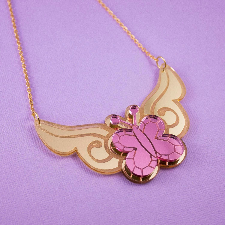 Fluttershy My Little Pony Element of Kindness Necklace
