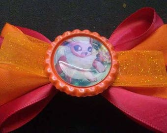 Flareon, Pokémon Bottle Cap Hair Bow