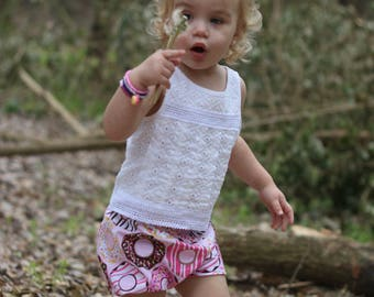 Donut Shop Baby Girl Bloomers/Diaper Cover/Shorties~Donuts~Doughnut~Birthday Outfit~Photo Shoot~Sizes NB - 24 Month~Matching ~Ready to Ship