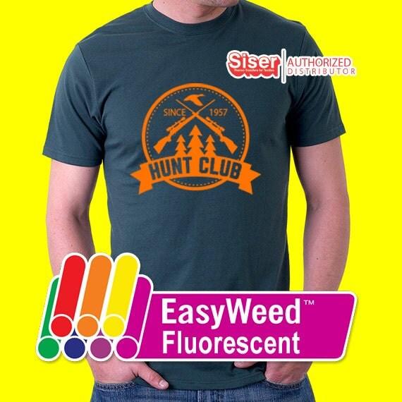 Fluorescent Light Vs Neon: 15x 10-yard Siser Easyweed Fluorescent Heat Transfer