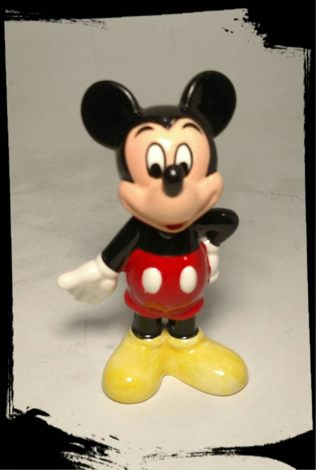 Collectible Mickey Mouse Figurine Disney Knick Knack