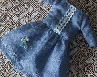Crochet Butterfly dress for Blythe