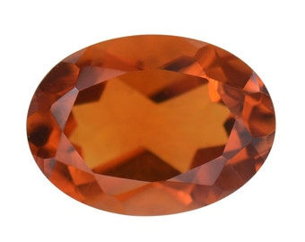 Santa Ana Madeira Citrine Oval Loose Gemstone Oval Cut 1A Quality 7x5mm TGW 0.60 cts.