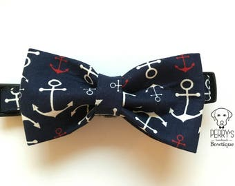 Welcome Aboard Sailor Bow Tie and Collar OR Bow Tie Only *OPTIONAL