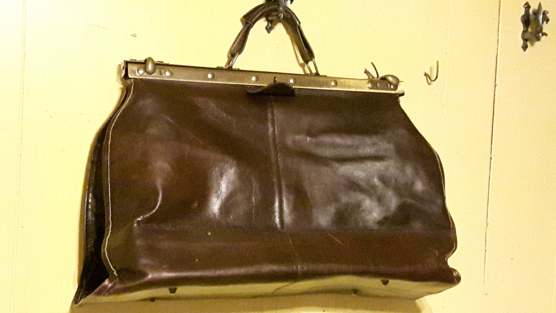sac cuir vintage style diligence femme