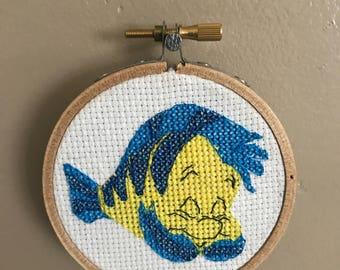 Flounder Cross Stitch