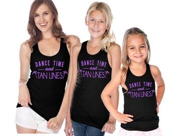 Dance Time Tan Lines Tank