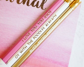 Gilmore Girls Quote Pencils | Set Of 3 Pencils