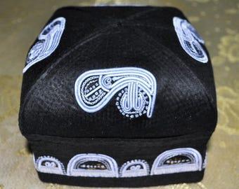 """Uzbek national headdress """"salla dopp qalpoq skullcap kalapush"""""""
