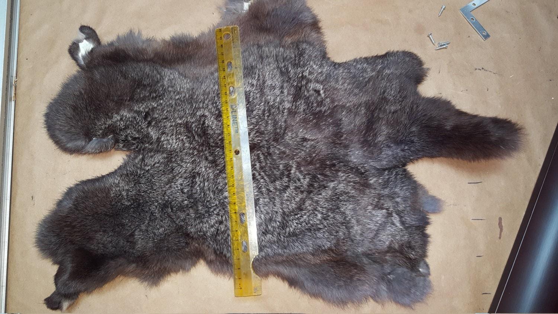 how to make a rabbit pelt