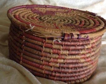 Antique Woven Southwestern Basket