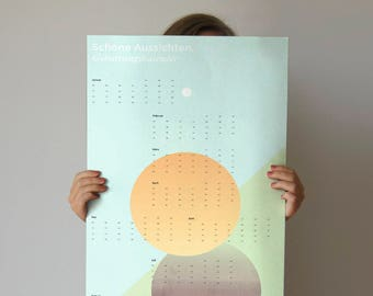 Birthday calendar circles