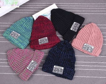 50 Winter Hat Kniited Beanie Hat, Knit Hat for Women Knit Hats Women, Womens Knit Hats