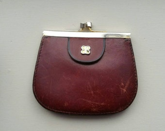 Vintage Balenciaga coin purse, Paris c. 1980s