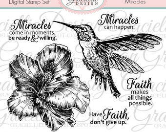 Miracles - Digital Stamp Set