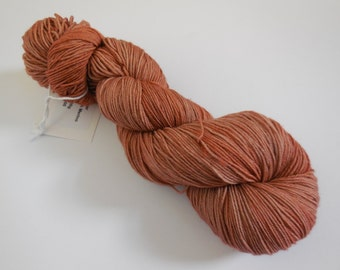 Teddy Bear Hand Dyed Superwash Merino Sock Yarn