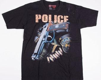 Vintage Police 90s Tshirt