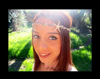 Mermaid Seashell Starfish Headband