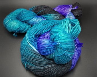 Ursula {Variegated} Villains Collection - Hand Dyed Yarn - Multiple Weights Available