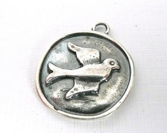 Reproduction Sterling Silver Bird Charm Supplies
