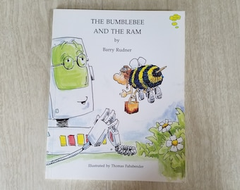 "Vintage Children's Book ""The Bumblebee and the RAM"" By Barry Rudner"