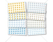 Itty Bitty Weather Stickers! for Erin Condren Life Planner, Plum Paper, personal planner, pocket planner, Weather Stickers SQ00364