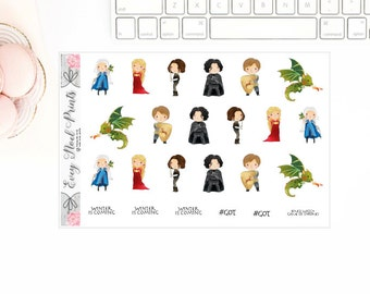 Throne stickers/GOT stickers