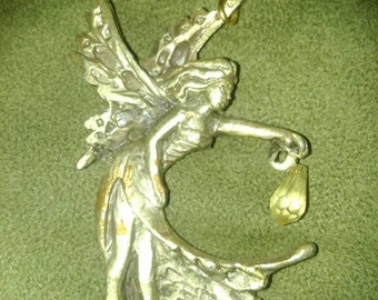 Pewter Fairy Pendant