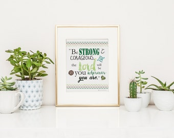 Army Girlfriend | Army Mom | Army Wife |  Army Gift | Camo Wedding|  Be Strong Printable Art |Army Printable |Inspirational Quotes| Download