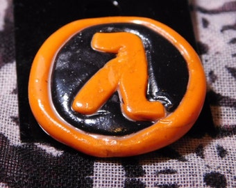 Half-Life Brooch