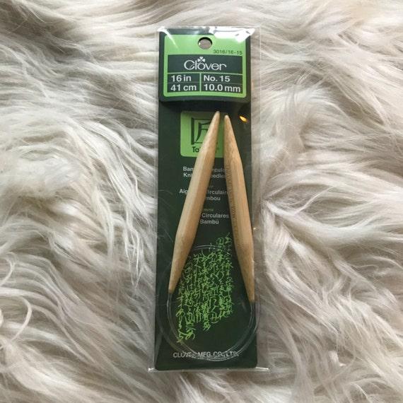 Knitting Needle Sizes Us : Knitting needles size us mm bamboo circular