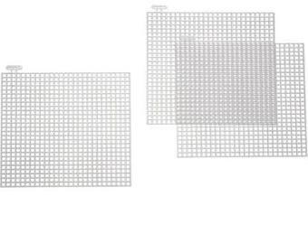 "4"" plastic canvas (40 pcs)"