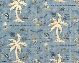 Tommy Bahama Outdoor Island Song Ocean Fabric