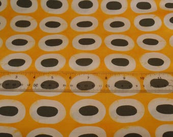 MODA Fabric by the Yard A Stitch In Color by Malka Dubrawsky #23203 12  Yellow Steel Quality Quilt Shop Cotton Fabric
