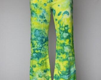 Tie dye yoga pants - Size Medium - Margarita Dance crinkle
