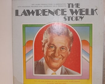 The Lawrence Welk Story-Set of 3- A Track Tapes-Vintage