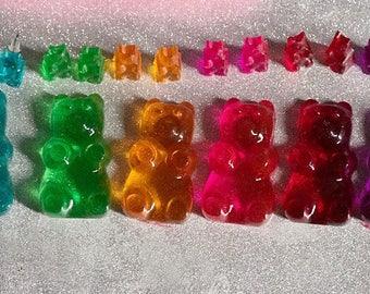 Gummy Bear Necklace Gummy Bear Pendant Gummy Bear Jewelry