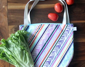 Grocery Tote Bag | Reusable Bag | Reusable Grocery Bag | Grocery Bag | Grocery Tote | Shopping Bag | Reusable Shopping Bag | Market Tote
