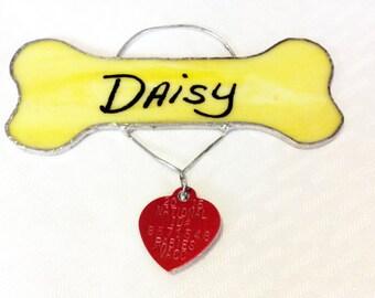 Dog Memorial, Dog Keepsake, Memorial Keepsake, Memorial ornament, Memorial Gift, Pet Memorial, Dog Lover, Dog Lover Gift, Dog Gift, Dog Bone